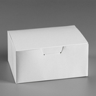 "Box of nuggets, chicken wings ""White"" 15х9,5x7 cm"