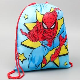 Мешок для обуви 420 х 350 мм, «Человек-паук», Человек-паук
