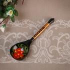 "Spoon souvenir, named ""Olga"", Khokhloma"