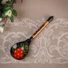 "Spoon souvenir, named ""Irina"", Khokhloma"