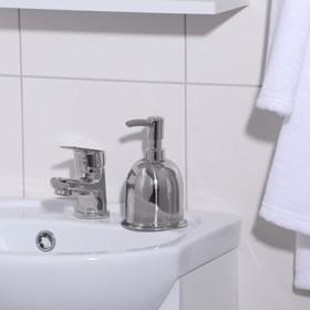 Дозатор для мыла «Практик», 320 мл, нержавеющая сталь - фото 4656308