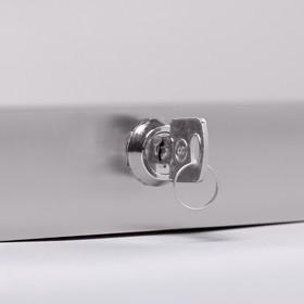 Диспенсер для бумажных полотенец «Практик», на 400 полотенец, нержавеющая сталь - фото 4648656
