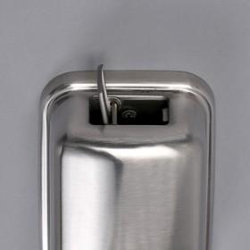Диспенсер для антисептика/жидкого мыла «Практик», 500 мл, нержавеющая сталь - фото 4656725