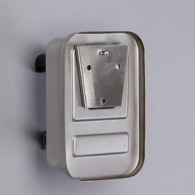 Диспенсер для антисептика/жидкого мыла «Практик», 500 мл, нержавеющая сталь - фото 4656726