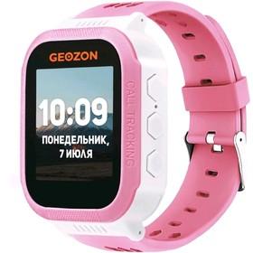 "Смарт-часы GEOZON CLASSIC 1.44"", TFT, IP54, GPS, Android, iOS, розовые"