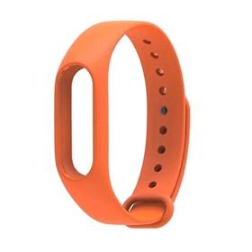 Ремешок для фитнес-браслета Xiaomi Mi Band 3/4, оранжевый