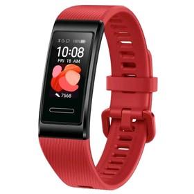 "Фитнес-браслет Huawei Band 4 Pro 0,95"", AMOLED, IP67, Bluetooth, Android, iOS, красный"
