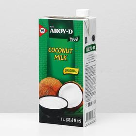Кокосовое молоко AROY-D, растительные жиры 17-19%, 1л