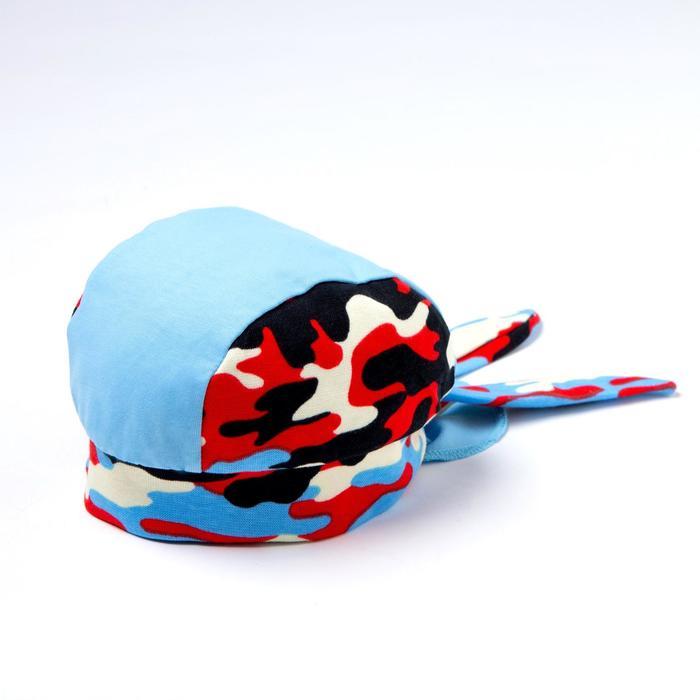 Бандана для мальчика, цвет голубой, размер 47-50 (1,5-3 года)