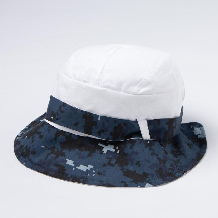 Панама для мальчика, цвет синий/белый, размер 50-53 (3-6 лет)