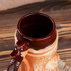 """Пивной бокал"""" Охота"""", коричневый , 1 л - фото 1398118"""