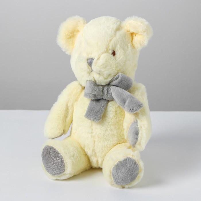 Мягкая игрушка «Медведь с бантом», цвет белый - фото 4467975