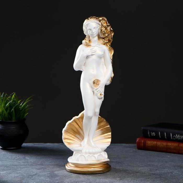 "Фигура ""Афродита"" белая, 40,5х12,5х12см - РусЭкспресс"