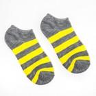 Носки женские Mondo Caldo полоска, цвет микс, размер 36-39