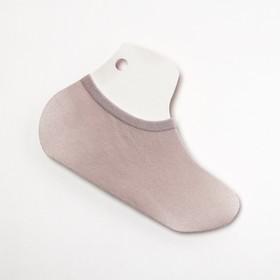 Носки-подследники, цвет серый, размер 36-40 Ош