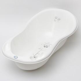 """Ванна детская 102 см., """"Совы"""" со сливом, цвет белый"""