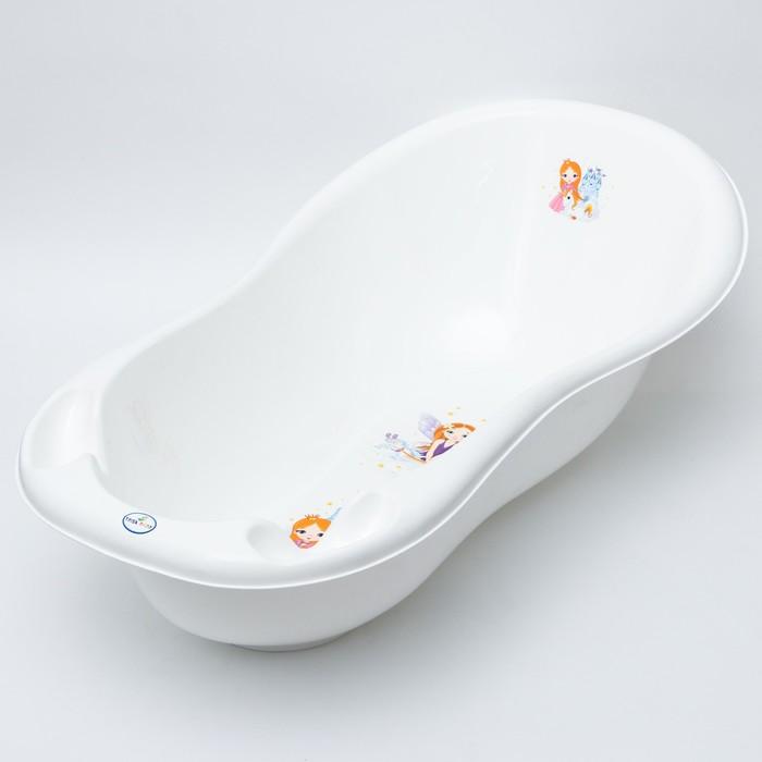 """Ванна детская 102 см., """"Принцесса"""", цвет белый - фото 961457"""