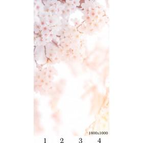 Панель потолочная PANDA Сакура панно 4110 (упаковка 4 шт.), 1,8х1 м
