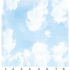 Панель потолочная PANDA Небо панно 4122 (упаковка 8 шт.), 2х2 м