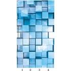 Панель потолочная PANDA Куб панно 4170 (упаковка 4 шт.), 1,8х1 м