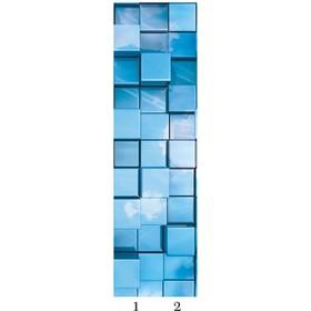 Панель потолочная PANDA Куб добор 4171 (упаковка 4 шт.), 1,8х0,25 м