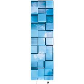 Панель потолочная PANDA Куб добор 4173 (упаковка 4 шт.), 2х0,25 м