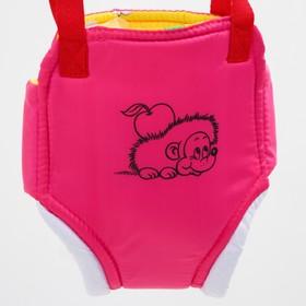 Прыгунки №1 «Ежик», цвет розовый  (прыгунки, качели, тарзанка)