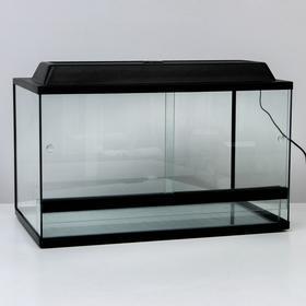 Террариум с раздвижными дверцами 112 л, 70х40х40 см