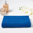 Полотенце махровое ОГОРОД 04-040 60х130 см, синий, хлопок 100%, 300г/м2