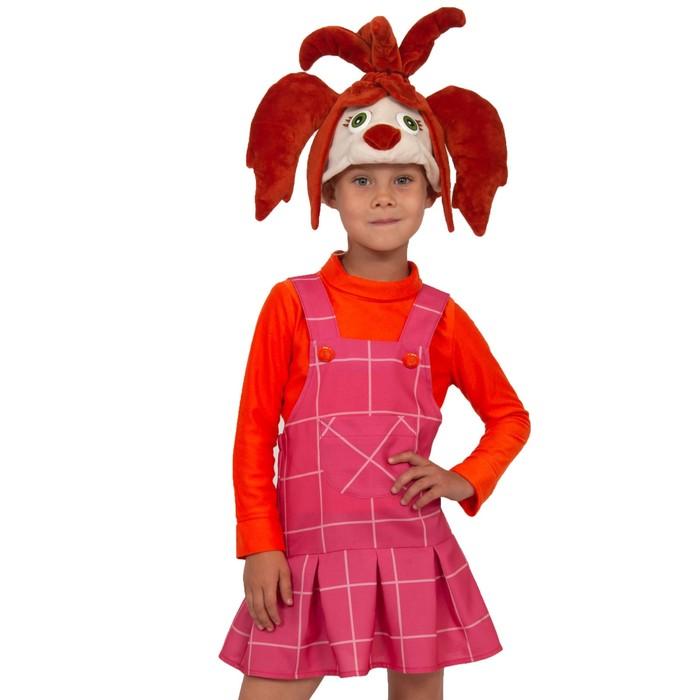 Карнавальный костюм «Лиза», маска, сарафан, кофта, р. 28-30, рост 104-110 см