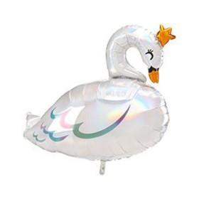 """Шар фольгированный 29"""" «Лебедь», фигура"""