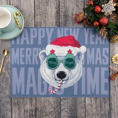 "The napkin on the table ""Merry Bright"" 40х29 cm"