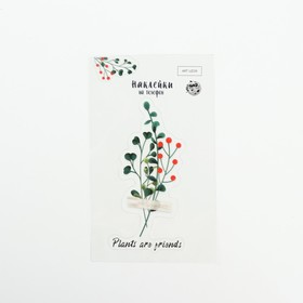 Stickers on the phone are friends 8 Plants x 14 cm