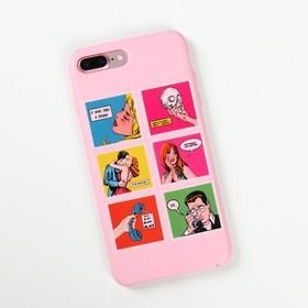Наклейки на телефон «Комиксы» 8 х 14 см