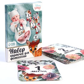 A set of cards for photo sessions, Disney