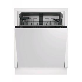 Посудомоечная машина Beko DIN26420, встраиваемая, класс А, 14 комплектов, 9.5 л