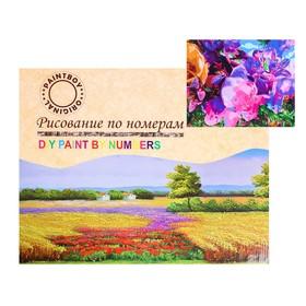 Картина по номерам на холсте «Цветочная абстракция» 40х50 см