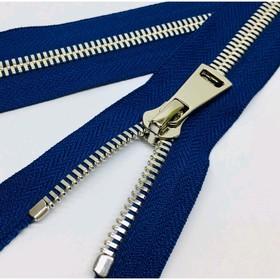 Молния для одежды, №8СТ, разъёмная, 110 см, цвет синий