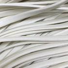 Шнур декоративный, кожзам, 4 мм, цвет молочный