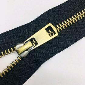 Молния для одежды, №5ТТ, неразъёмная, 18 см, цвет чёрный