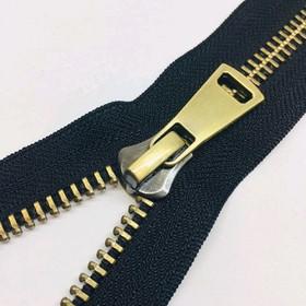 Молния для одежды, №8ТТ, разъёмная, 75 см, цвет чёрный