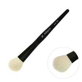 Brush Goat Oval Watercolor No. 18 b-18mm L-30mm short handle (black enamel)