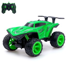 """Jeep radio-controlled """"Ghost"""", all-wheel drive, 4WD, smoke effect, the battery MIX"""