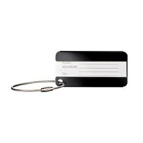 Бирка для багажа Wenger, чёрная, 8×0,3×4 см