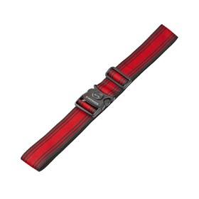 Ремень багажный Wenger, чёрный/красный, 101,5×1,4×5 см