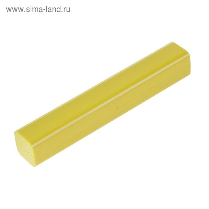 Футляр для ручек желтый