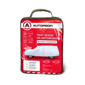 Тент-чехол на автомобиль AUTOPROFI, кроссовер (джип),  485х185х145 см, размер L