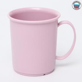 Кружка детская 0,18 л, цвет розовый