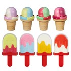 Пластилин для лепки «Масса для лепки. Мороженое» - фото 105605736