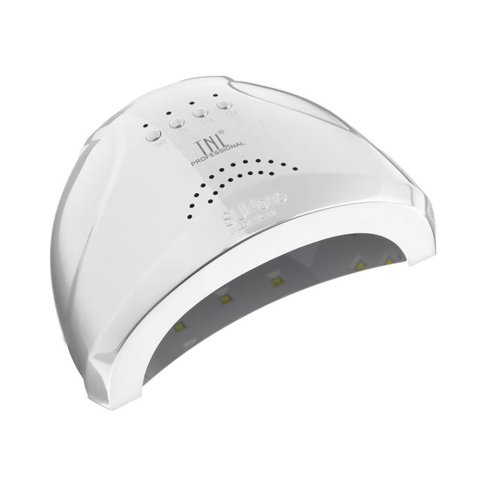 Лампа для гель-лака TNL Shiny, UV/LED, 48 Вт, 30 диодов, таймер 5/30/60 сек, перламутровая